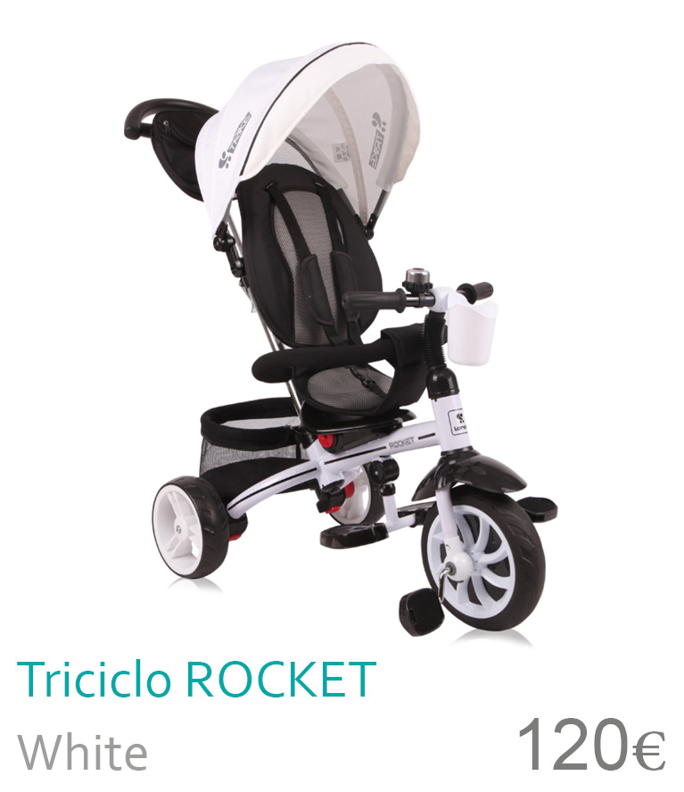 Triciclo ROCKET White