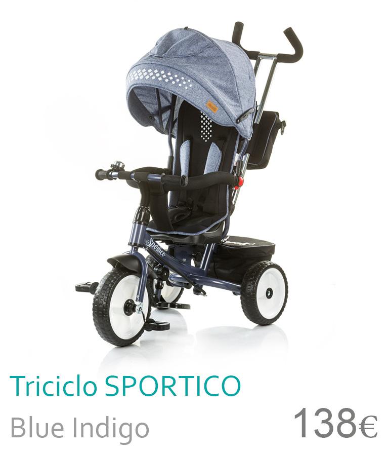 Triciclo SPORTICO Blue Indigo