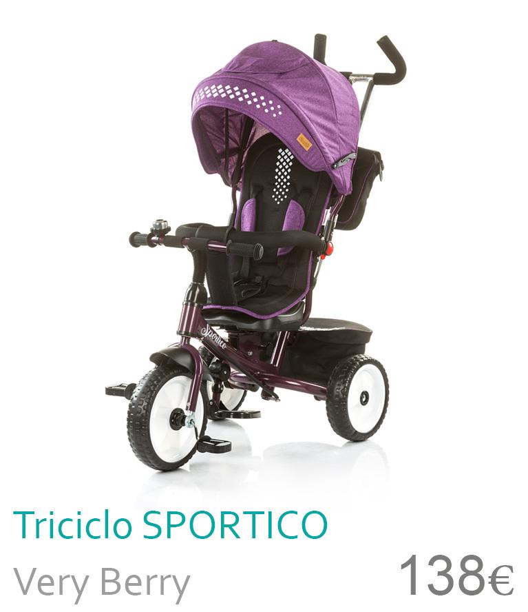 Triciclo SPORTICO Very Berry