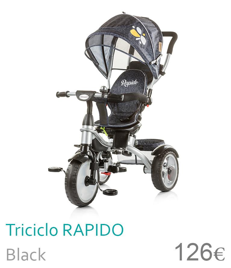 Triciclo rapido black