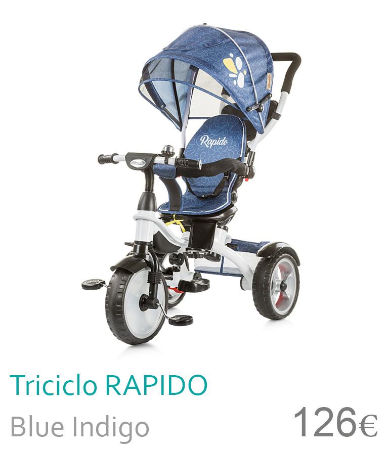 triciclo Rápido Blue indigo