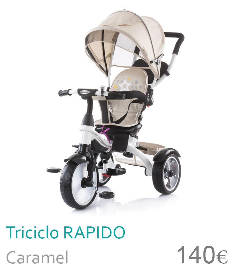 Triciclo RAPIDO Caramel