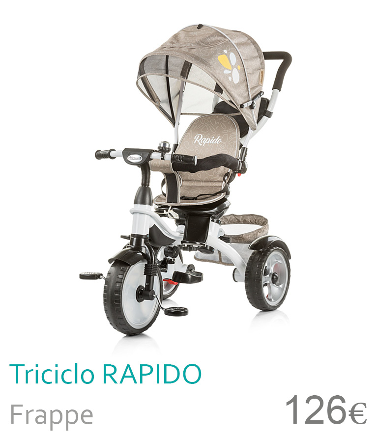 triciclo rapido frappe