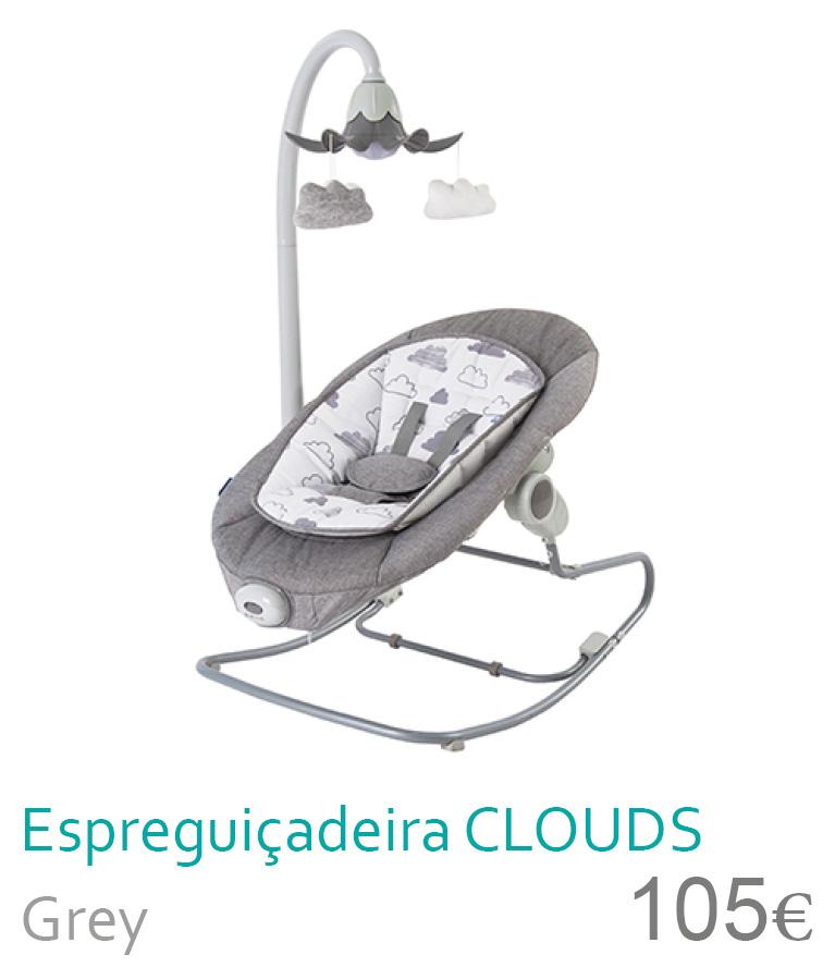 Espreguiçadeira CLOUDS Grey