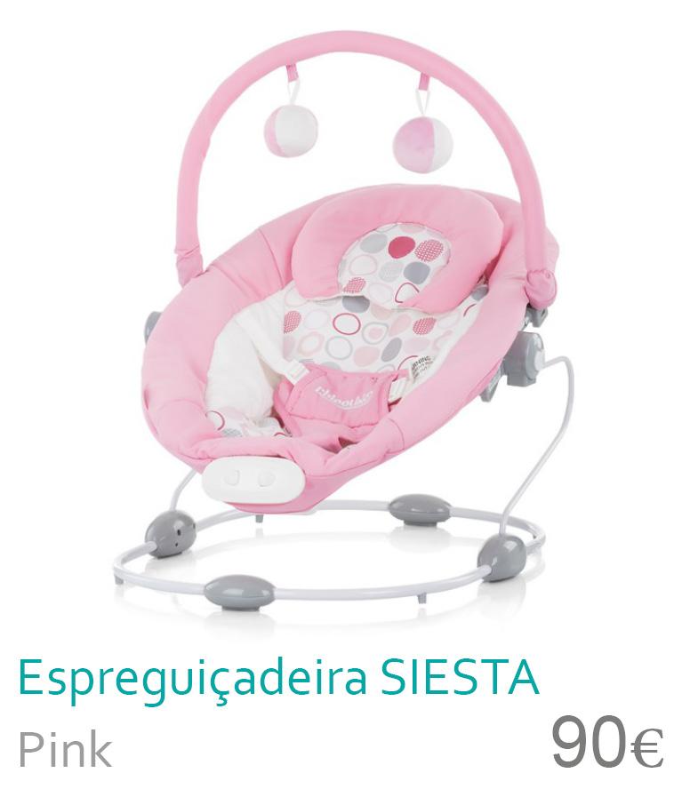 Espreguiçadeira SIESTA Pink