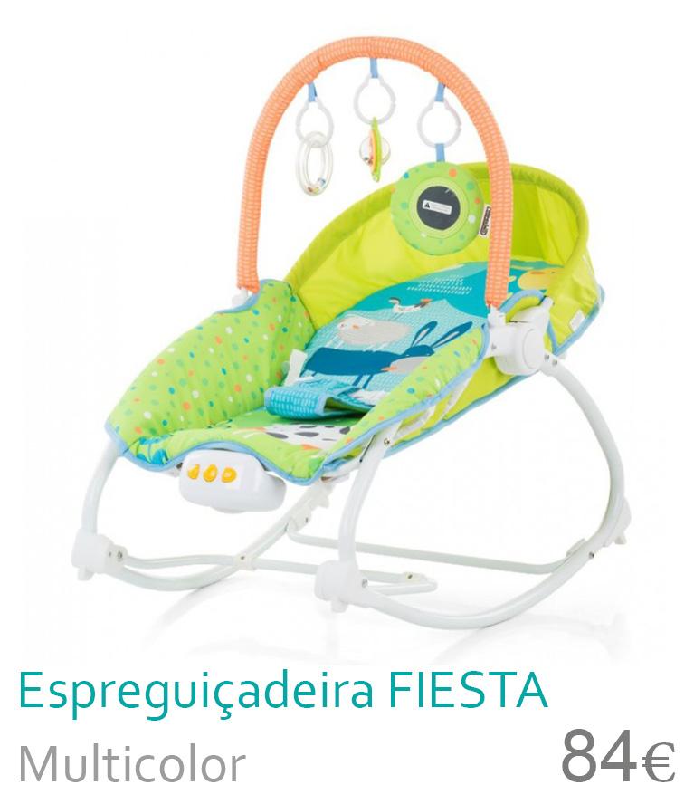 Espreguiçadeira FIESTA Multicolor