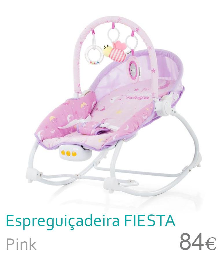 Espregiçadeira FIESTA Pink