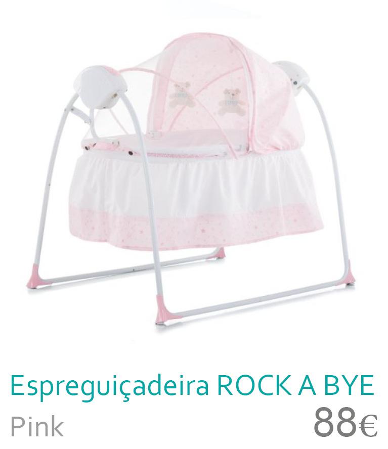Balanço ROCK A BYE Pink