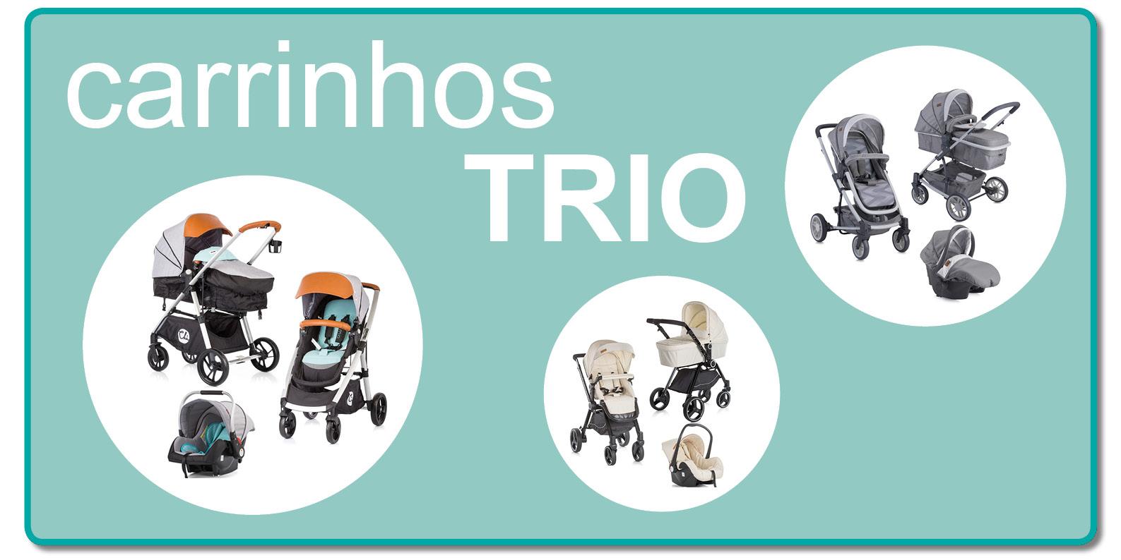 Carrinho trio